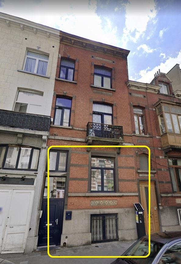Rez de chaussée + sous-sol – Anderlecht