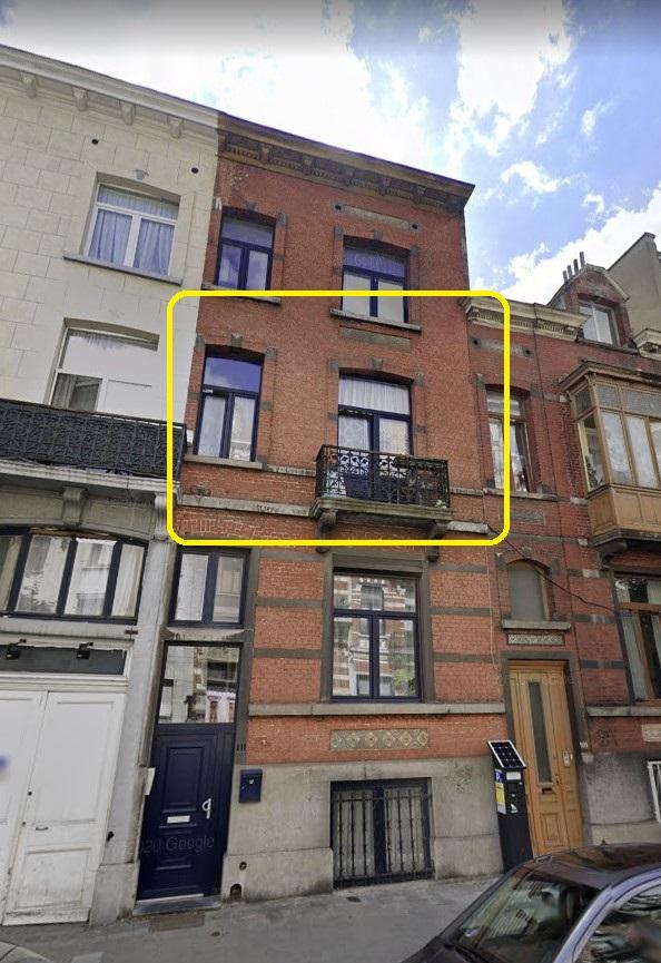Un appartement – 1er étage – Anderlecht
